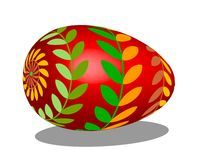 Easter Egg Red Stock Photo