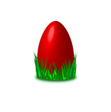 Easter egg in red Stock Image