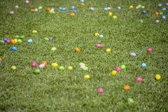 Easter Egg Rush Royalty Free Stock Photos