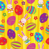 Easter_egg_seamless Royalty Free Stock Photos