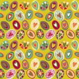 Easter egg seamless pattern. This is file of EPS8 format Royalty Free Stock Photo
