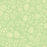 Easter egg seamless pattern. Floral holiday background. Easter floral texture. Egg seamless pattern. Spring holiday background for printing on fabric, paper for Royalty Free Stock Photos