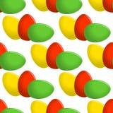 Easter egg seamless vector pattern Stock Photos