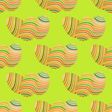 Easter egg seamless vector pattern Royalty Free Stock Images
