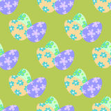 Easter egg seamless vector pattern Royalty Free Stock Image