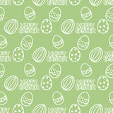 Easter egg seamless vector pattern Royalty Free Stock Photo