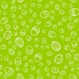 Easter egg seamless vector pattern. Stock Image