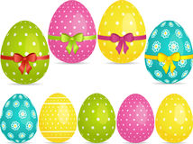 Easter egg set Stock Photography