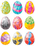 Easter egg set Stock Image