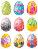 Easter egg set Stock Image