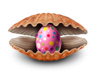 Easter Egg Surprise Discovery Royalty Free Stock Photography
