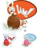 Easter Egg Surprise Royalty Free Stock Photos