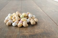 Easter egg sweets royalty free stock photography