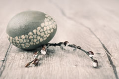 Easter Egg, text space Stock Photos