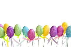 Easter egg toys Royalty Free Stock Photo