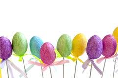 Easter egg toys Stock Photo