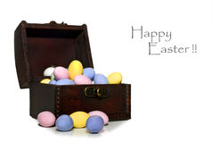 Easter egg treasure Royalty Free Stock Photos