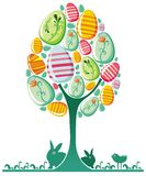 Easter egg tree. Stock Photos