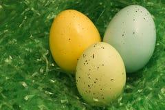 Easter Egg Trio Stock Photography