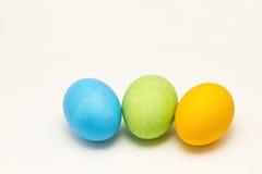 Easter Egg Trio Royalty Free Stock Photos