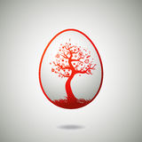 Easter egg, vector Royalty Free Stock Image