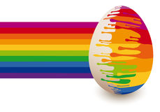 Easter egg, vector Stock Image