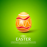 Easter egg.Vector illustration Background Royalty Free Stock Photography