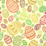 Easter Egg. Vector seamless pattern. EPS 10 Stock Photography