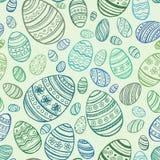 Easter Egg. Vector seamless pattern Stock Image