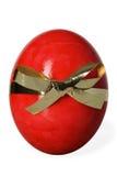 Easter egg on white Royalty Free Stock Images