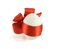 Easter egg on white background Stock Image