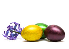 Easter Egg With Flowers Royalty Free Stock Image