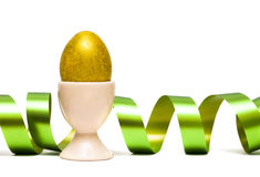 Easter Egg With Ribbon Royalty Free Stock Images