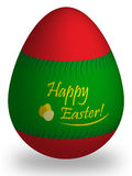 Easter egg with wrapper Royalty Free Stock Photography