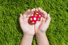 Easter egg for you Royalty Free Stock Images