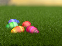 Easter egge hunt Stock Images