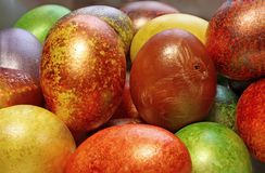Easter eggs – handmade Royalty Free Stock Images