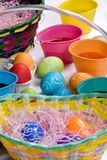 Easter Eggs 004. Painting easter eggs is so much fun... do you remember Royalty Free Stock Photos