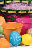 Easter Eggs 007. Painting easter eggs is so much fun... do you remember Royalty Free Stock Photos