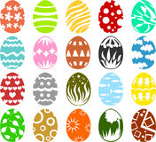 Easter eggs 01 Royalty Free Stock Images