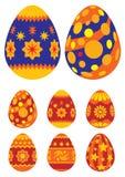 Easter eggs 01 royalty free illustration