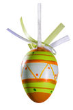 Easter eggs. On white background Royalty Free Stock Photo