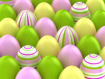 Easter eggs. Royalty Free Stock Image