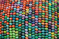 Easter eggs. Are manufactured in different regions of Ukraine stock images