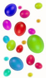 Easter eggs. Shot with blur to give depth of field Royalty Free Stock Photo