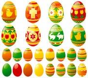 easter eggs 免版税图库摄影