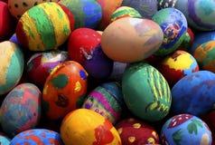 Easter eggs-2. Easter eggs as Chistian simbol Stock Image