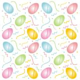 Easter eggs. Easter design with colorful eggs Royalty Free Illustration
