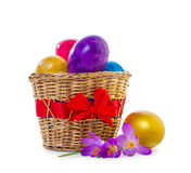 Easter eggs Stock Images