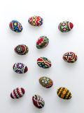 Easter eggs. A series of photographs of Easter Royalty Free Stock Photography